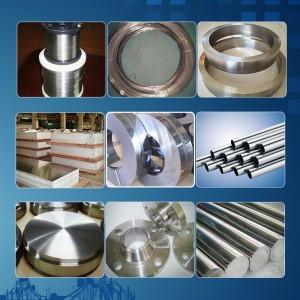 Pure nickel Alloy Nickel 200 UNS N02200