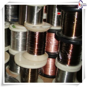 Heat Resistant Wire CuNi14 Cooper alloy wire